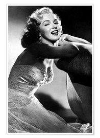 Premium poster  ALL ABOUT EVE, Marilyn Monroe