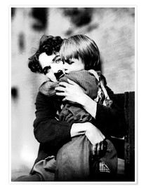 Premium poster  Charlie Chaplin and Jackie Coogan
