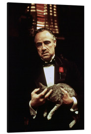Alu-Dibond  The Godfather-Marlon Brando