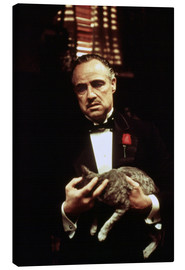 Canvas print  The Godfather, Marlon Brando