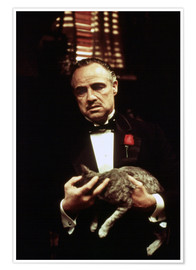Premium poster  The Godfather, Marlon Brando