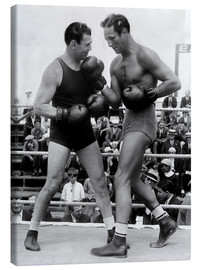 Canvas  Jack Dempsey and Max Baer