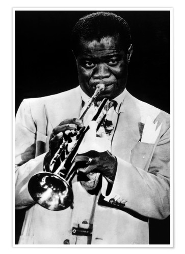 Premium poster Louis Armstrong