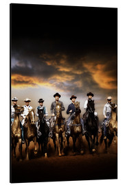 Aluminium print  THE MAGNIFICENT SEVEN