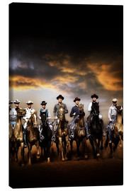 Canvas print  THE MAGNIFICENT SEVEN