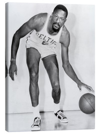 Canvas print  Bill Russell