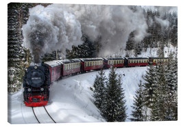 Canvas print  Brocken railway - Steffen Gierok