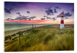 Acrylic print  Lighthouse List East (Elbow/Sylt) - Dirk Wiemer