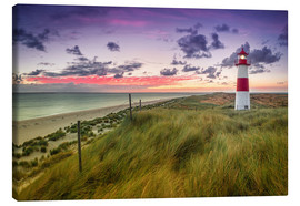 Canvas print  Lighthouse List East (Elbow/Sylt) - Dirk Wiemer