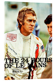 Acrylic print  The 24 hours of Le Mans