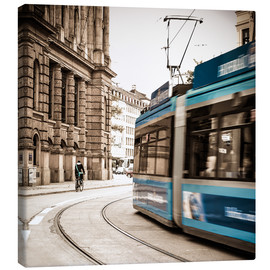 Canvas print  Munich city traffic - Hannes Cmarits