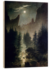 Wood  Uttewalder basic - Caspar David Friedrich