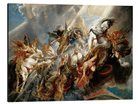 Aluminium print  Fall of Phaeton - Peter Paul Rubens