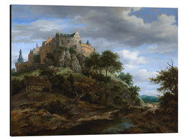 Alu-Dibond  The castle Bentheim - Jacob Isaacksz van Ruisdael