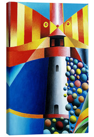 Canvas print  Lighthouse Fish - Gerhard Kraus