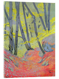 Acrylic print  Undergrowth - Paul Sérusier
