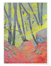 Premium poster  Undergrowth - Paul Sérusier