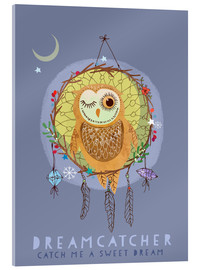 Acrylic print  Dream catcher - Elisandra Sevenstar