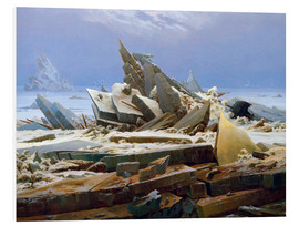 Forex  The Arctic (of the Hope) - Caspar David Friedrich