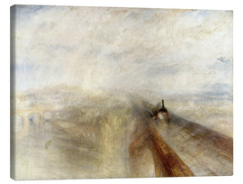 Canvas print  Rain, Steam and Speed - Joseph Mallord William Turner