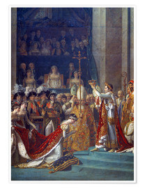 Premium poster  Coronation of Empress Josephine - Jacques-Louis David