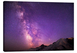 Canvas print  Milky way at the violet sky - Gary Luhm
