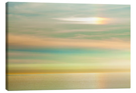 Canvas print  Sky and ocean, La Jolla - Don Paulson