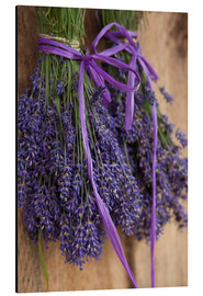 Aluminium print  Drying Lavender Bouquet - John & Lisa Merrill