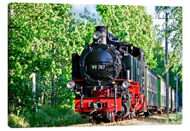 Canvas  famous train Rasender Roland' - wiw