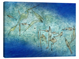 Canvas  Fish image - Paul Klee