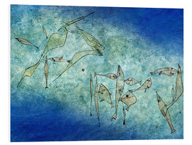 Foam board print  Fish image - Paul Klee