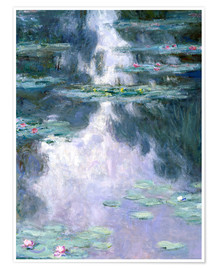 Poster  Water Lilies - Claude Monet