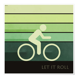 Premium poster  Let It Roll - Phil Perkins