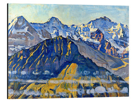 Aluminium print  Eiger, monk and virgin in the sun - Ferdinand Hodler
