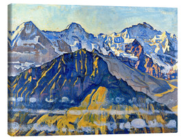 Ferdinand Hodler - Eiger, Mönch and Jungfrau in the sun