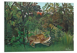 Forex  The hungry lion - Henri Rousseau