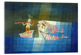 Acrylic print  Sinbad the Sailor - Paul Klee