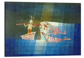 Aluminium print  Sinbad the Sailor - Paul Klee