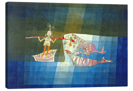 Canvas print  Sinbad the Sailor - Paul Klee