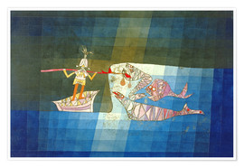 Premium poster  Sinbad the Sailor - Paul Klee