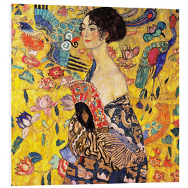 Forex  Lady with a Fan - Gustav Klimt