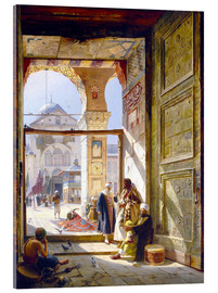Acrylic print  The gate of the great Umayyad Mosque in Damascus - Gustave Bauernfeind
