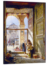 Aluminium print  The gate of the great Umayyad Mosque in Damascus - Gustave Bauernfeind