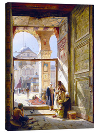 Canvas  The goal of the great Umayyad Mosque in Damascus - Gustave Bauernfeind