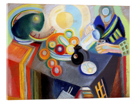 Acrylic print  Portuguese Woman pouring something - Robert Delaunay
