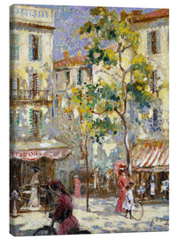 Canvas print  Street scene in Paris - Joseph Alfred Terry