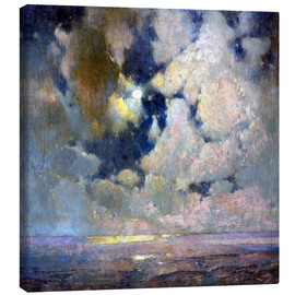 Canvas print  The sea at sunrise - Soren Emil Carlsen
