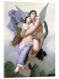 Acrylic glass  Abduction of Psyche - William Adolphe Bouguereau