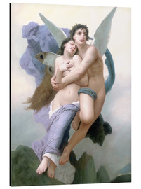 Aluminium print  Abduction of Psyche - William Adolphe Bouguereau