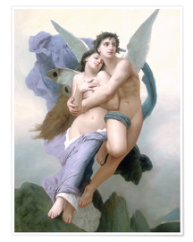 Premium poster Abduction of Psyche